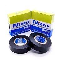 Изолента ПВХ Nitto Tape Тайвань 19х0.13мм 25 м черная