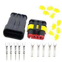Разъем герметичный DJ7031-1.5 5-pin комплект