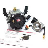 Редуктор Stag R02 (до 150 л.с.) с газ. клап. Stag STN для систем впрыска